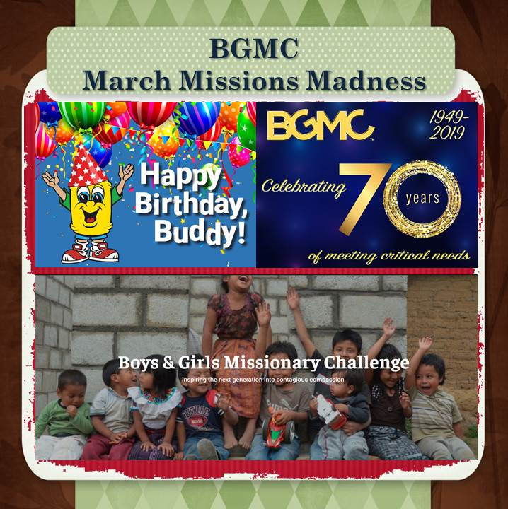 BGMC March Missions Madness